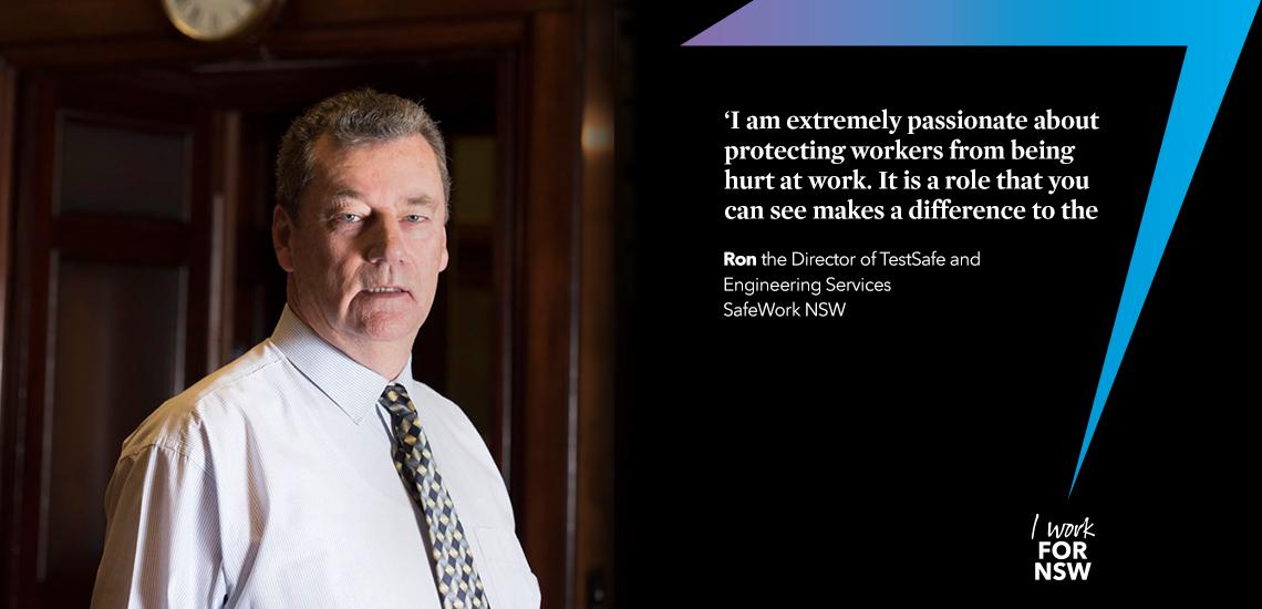 Ron - Director safeguarding our environment