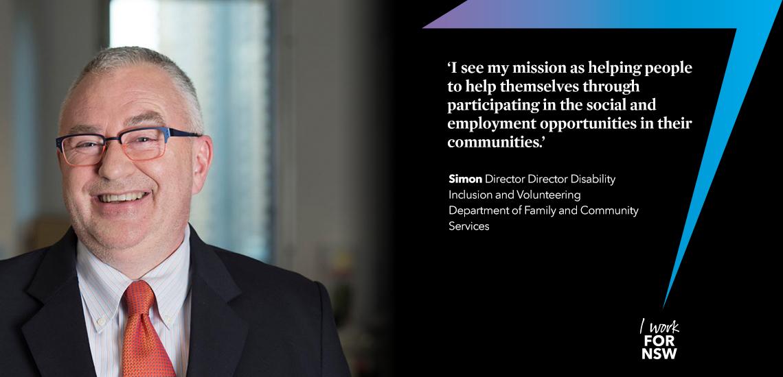 Simon - Director leading collaboration