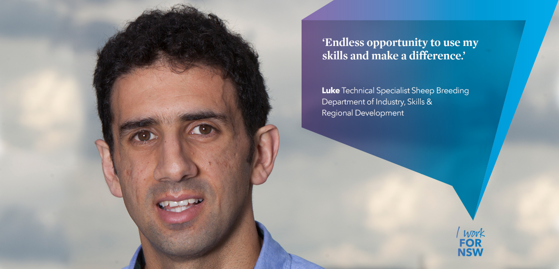 Luke - Technical Specialist NSW Department of Industry, Skills and Regional Development | I work for NSW
