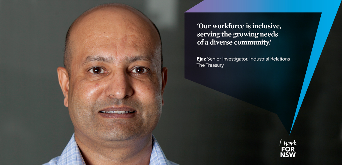 Ejaz - Senior Investigator NSW Treasury | I work for NSW