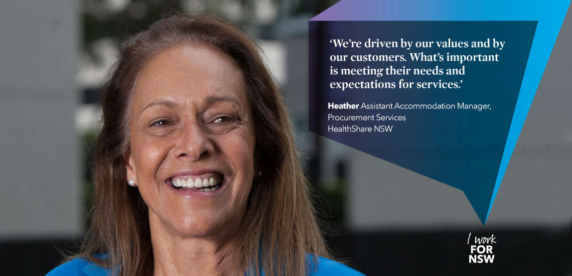Heather - Assistant Accommodation Manager HealthShare NSW | I work for NSW