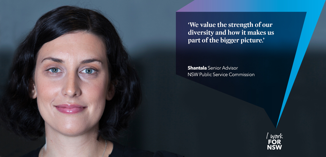 Shantala - Senior Advisor NSW Public Service Commission developing futures | I work for NSW