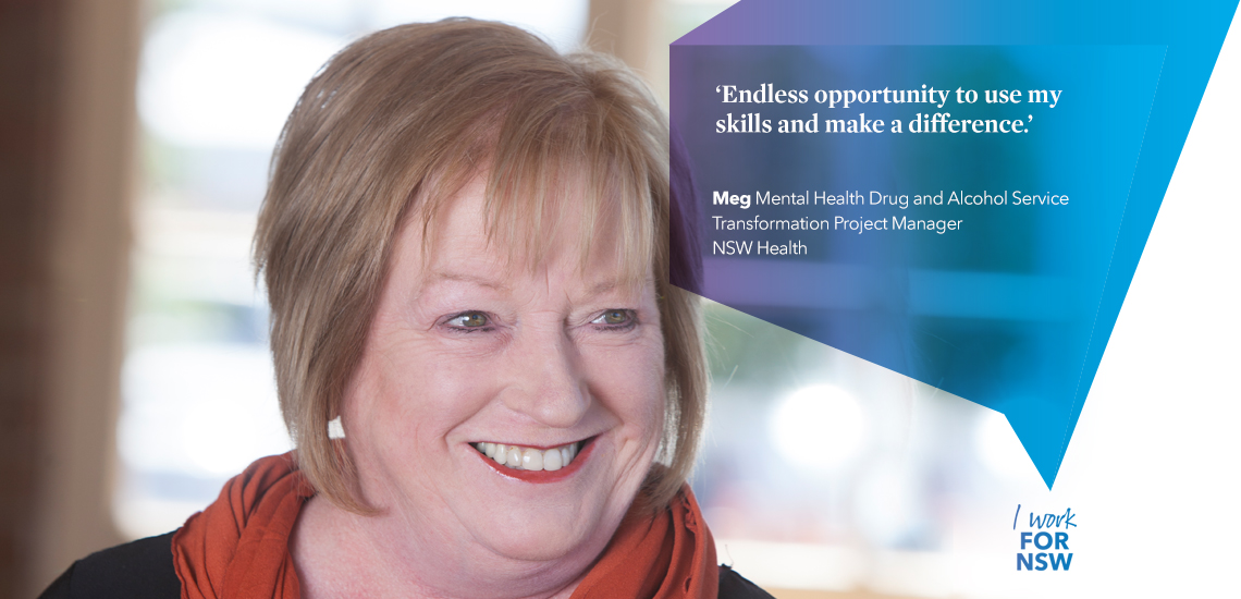Meg - Transformation Project Manager NSW Health | I work for NSW