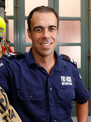 Jo - Senior Fire Fighter City of Sydney Fire Station career profile | I work for NSW