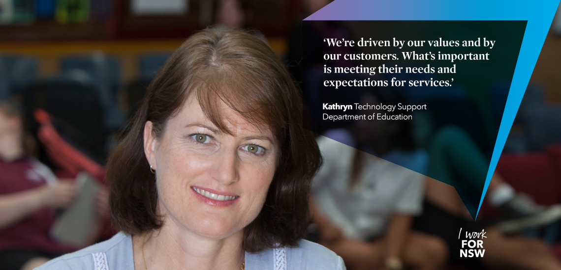 Kathryn - Technology Support NSW Department of Education | I work for NSW
