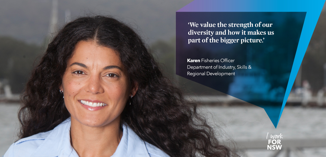 Karen - Fisheries Officer NSW Department of Industry    I work for NSW