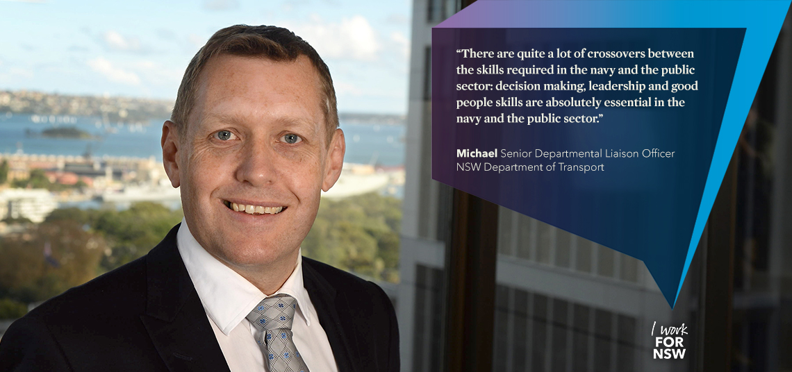 Michael - Senior Departmental Liaison Officer NSW Department of Transport | I work for NSW