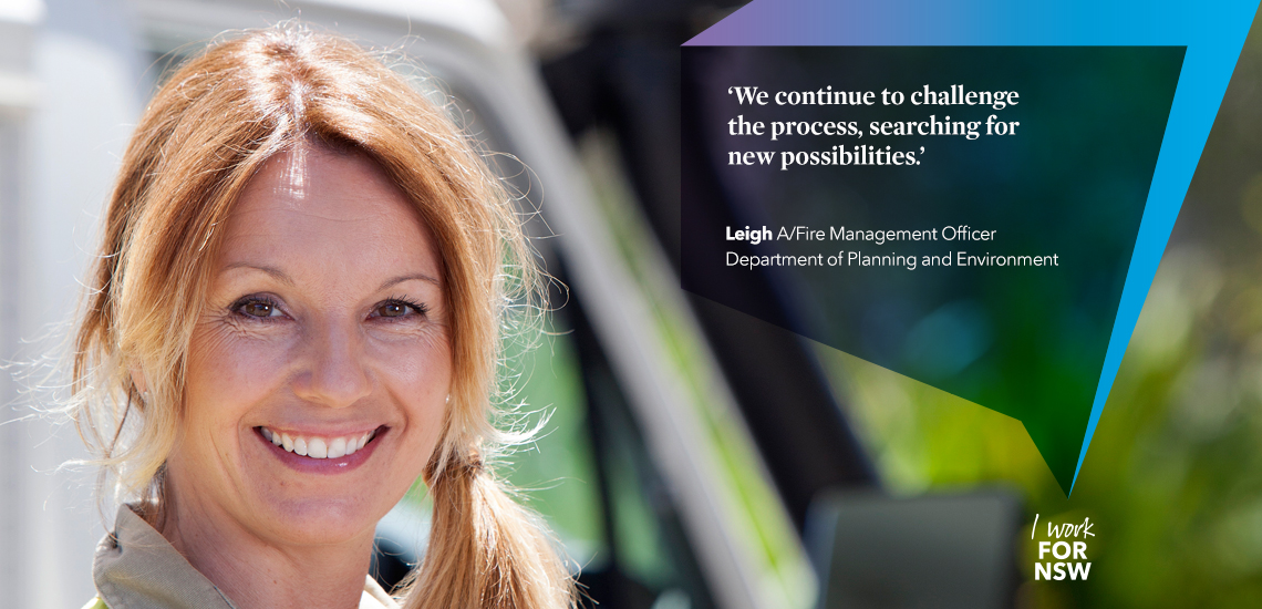 Leigh - Assistant Fire Management Officer NSW Department of Planning and Environment career profile | I work for NSW